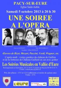Récital lyrique Pacy-sur-Eure